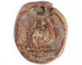 Stoneware Owl Charm 37