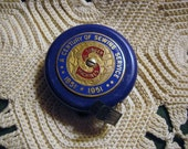 Reserved For Evelyn Vintage Singer Sewing Machine Centennial Tape Measure Rare 1951 Free USA Shipping