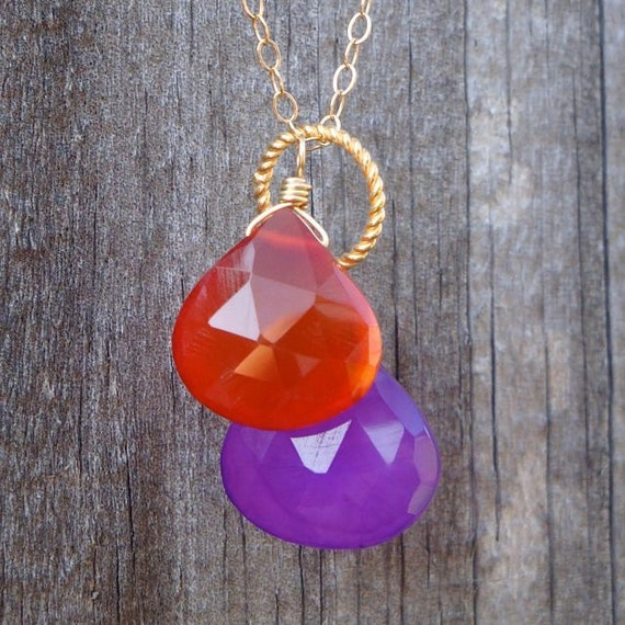 Fall Sunset Necklace