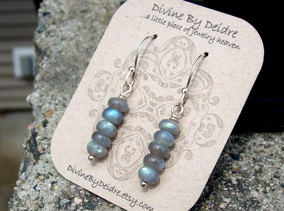 Sticks and Stones... Labradorite Earrings