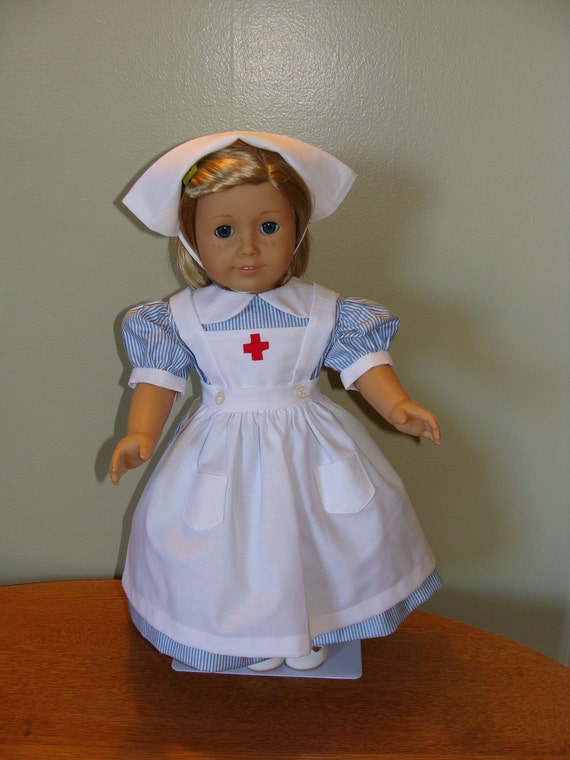 Nurses Outfit For 18 Inch American Girl Doll