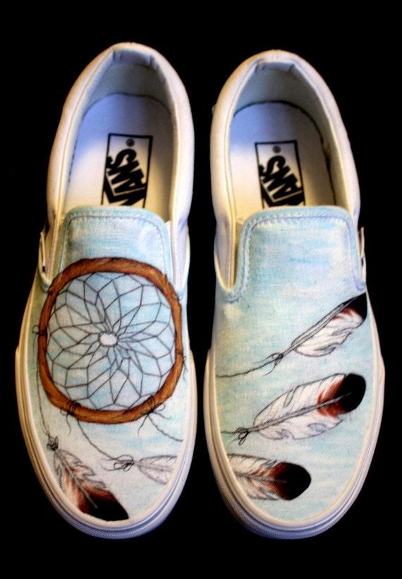Vans Native American Design Shoes