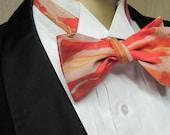 Bacon Men's Skinny Bow Tie