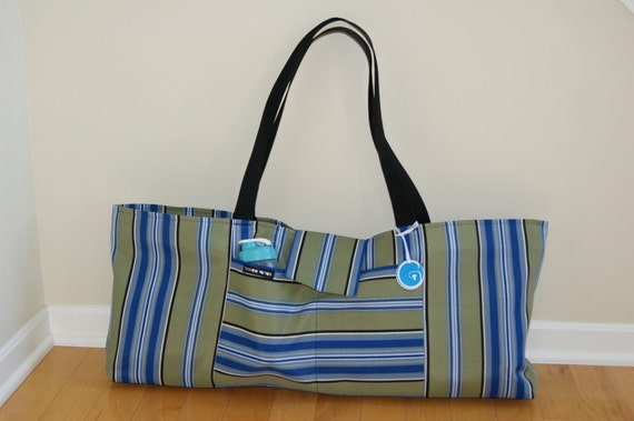 X-Large Yoga or tennis Bag - Made to Order.