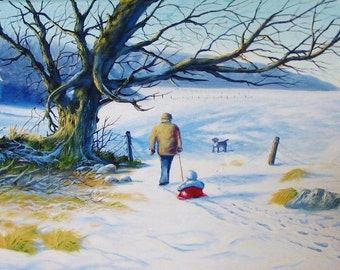 The Way Home - original, prints, framed prints and greeting cards