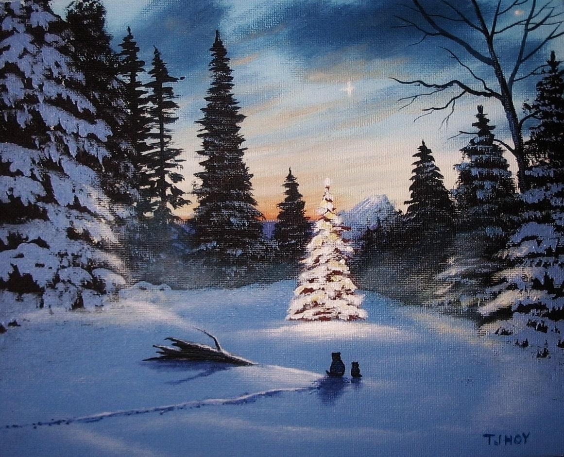 Hang Christmas Lights On Trees