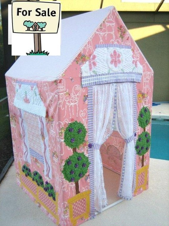 Playhouse Vintage-Look Cottage for Kids -  Made-To-Order