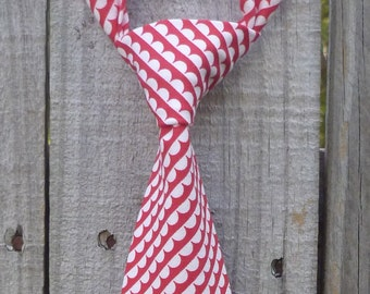 Boys Necktie -  Infant/Toddler/Child - Ruby