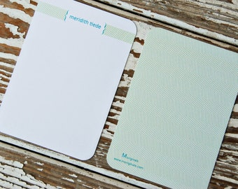 Personalized Notecards - Set of 8 - Abigail Notes