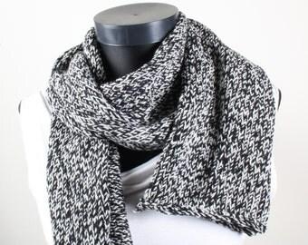 Gray Black Shawl,Perfect for winter, winter accessories