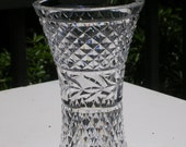 Waterford Crystal Vase Glandore Pattern