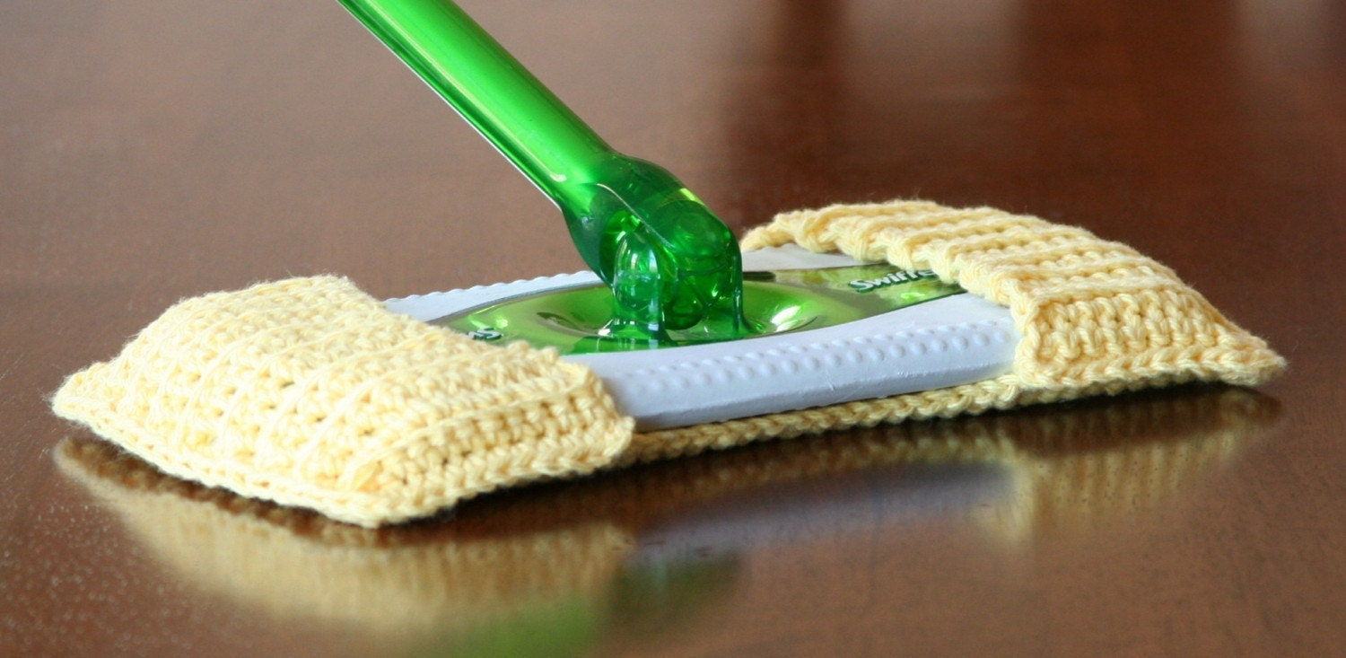 Items Similar To Cotton Swiffer Cover Yellow On Etsy