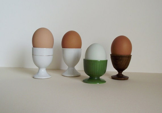 Vintage Assorted Egg Cup Collection