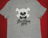 Pirate Birthday Boy Shirt