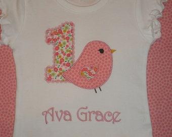 Little Bird Birthday Shirt