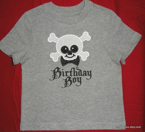 Pirate Birthday Boy Shirt Custom Listing for Julie