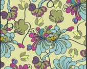 1 Yard Cut Fabric Alhambra II Collection - Spanish Petals Buttercup