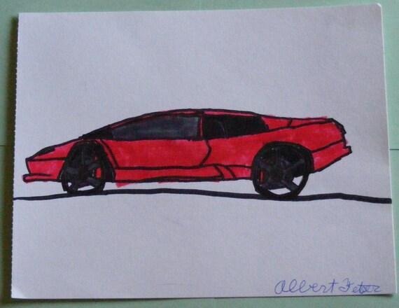 2009 Lamborghini Drawing