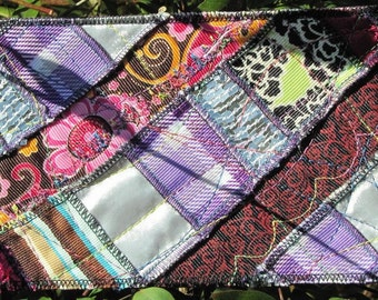 Gosh Danged Gorgeous Quilted Postcards - 4 Crazy Laughing Quilts