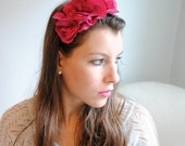 B. Poetic Isabella Headband in Fuchsia