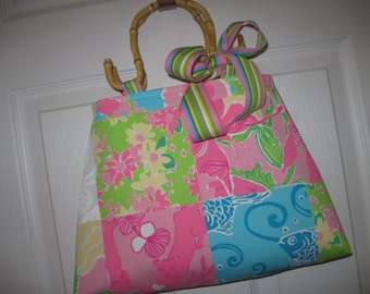 Lilly Handmade Tote Bag Purse