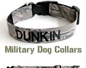 Reserved Military Dog Collar Listing for Michelle