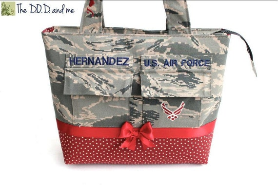 Reserved Military Air Force Purse Listing for Heather