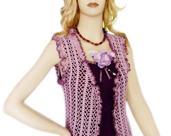AMAZINGCROCHET Lilac Summer Top Crochet pattern