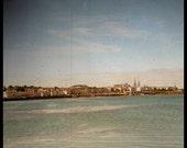 "Ireland Photography Seaside photo Dun Laoghaire East coast of Ireland 5 x 5 "" print"
