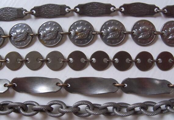 Vintage Chain Destash Lot - Gunmetal