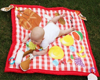 Picnic baby play mat, waterproof play mat, baby activity mat, baby toys, summer outdoor play, playmat, baby mat, picnic blanket