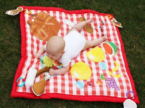 Picnic Baby Play Mat Waterproof Play Mat Baby Activity Mat