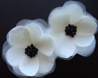 Mindy-Set of Anemone Hair Flowers