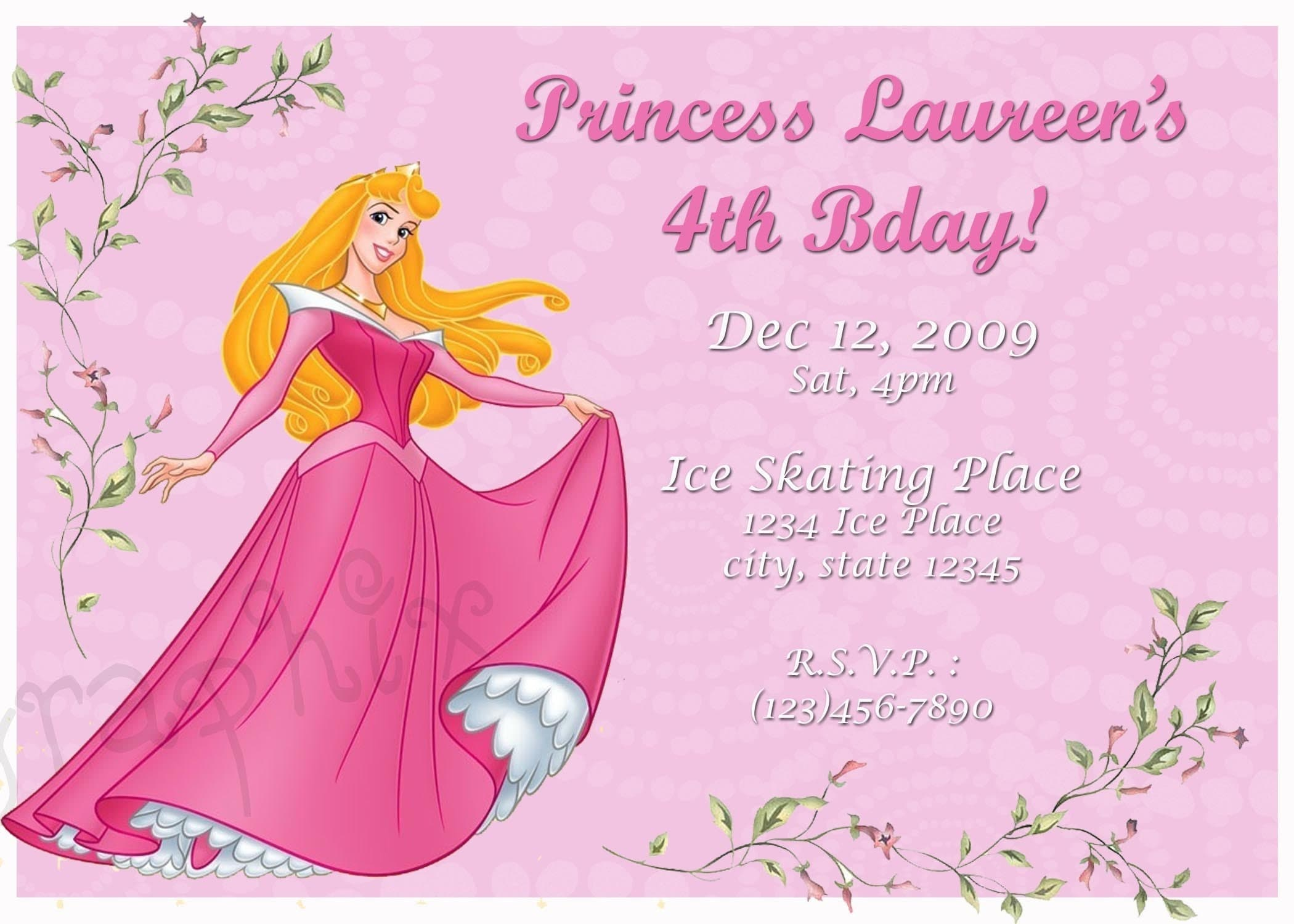 Sleeping Beauty Party Invitations Quotes Of The Day