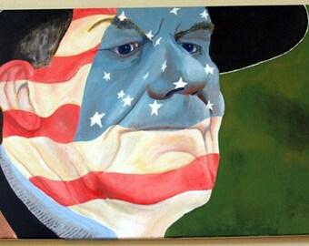 Post Patriotism- Original Painting