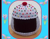 The Crocheter's Or Knitter's Zippered Cup Cake Supply Tote With Compartments.A Must Read.