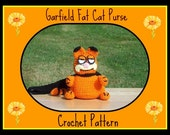 Garfield Fat Cat Purse Crochet Pattern