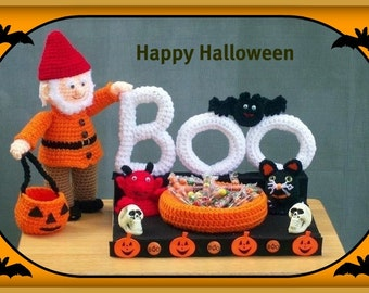 Boo And Friends Crochet Pattern