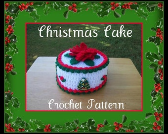 Christmas Cake Crochet Pattern