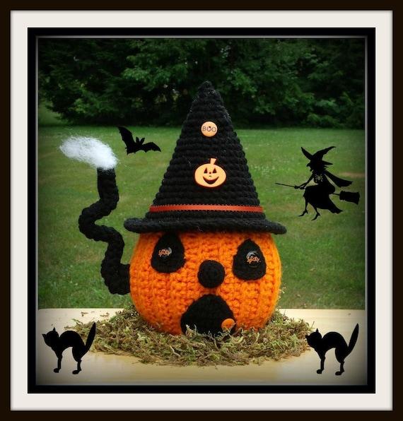 Halloween Pumpkin House Crochet Pattern