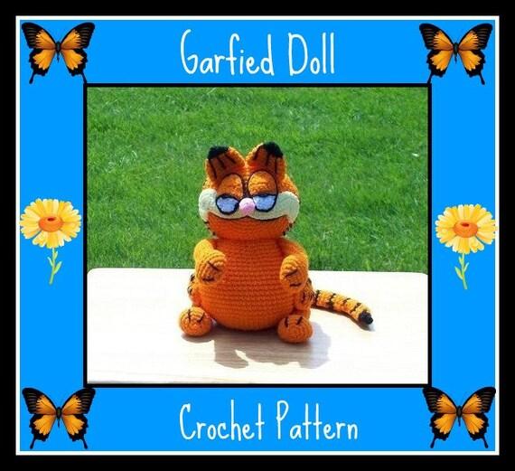 Garfied Doll Crochet Pattern