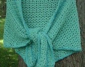 Sea Spray Spring\/Summer Cotton Shawl