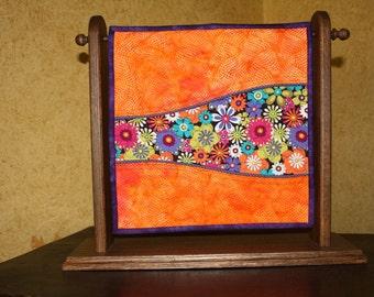 Orange Happiness Mini Quilt