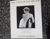 The Lives of Lee Miller Vintage First Edition Art Book By Antony Penrose