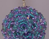 Lavender and Teal Bucky Ball