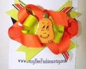 Boutique Halloween Hair Bow