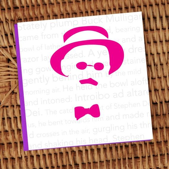 James Joyce 'Ulysses' Minimal design