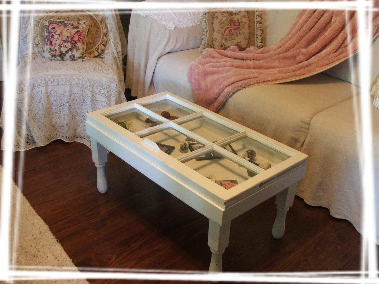 Darling Vintage Window Curio Coffee Table By SoShabbyJen On Etsy