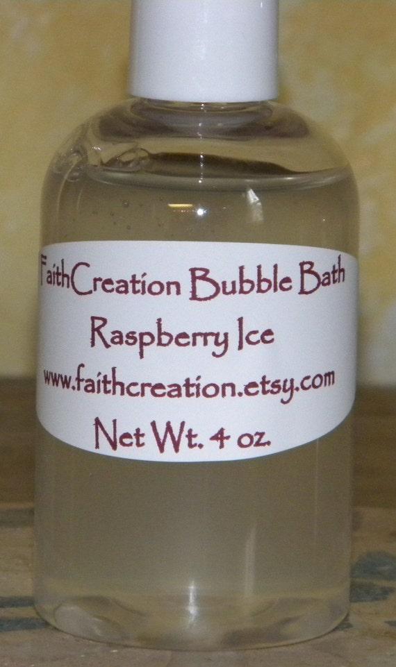 Raspberry Ice Bubble Bath 4 oz.