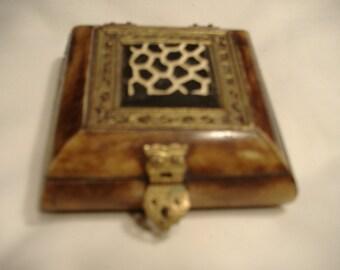 Vintage bone accessory box